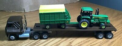 $20.45 • Buy Winross Mack CH600 1990 Lancaster Toy Show Tractor/Flatbed Trailer 1/64