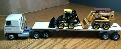 $20.45 • Buy Winross Mack CH600 J R Hoover Skid Loaders Tractor/Flatbed Trailer 1/64