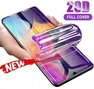 £1.95 • Buy For SAMSUNG Galaxy S20 S10 8 9 Plus S21 NOTE TPU Hydrogel FILM Screen Protector