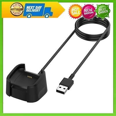 $ CDN10.42 • Buy USB Charger Cable For Fitbit Versa 2 Smart Watch Charging Cable (Black) #E