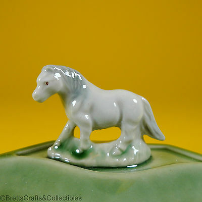 £28.66 • Buy Wade Whimsies (1987/88) Whimtray/Pin Tray Series (Green Dish) Whimsie-Land Pony