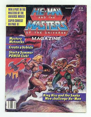 $12.50 • Buy He-Man And The Masters Of The Universe Magazine #7 GD 2.0 1986