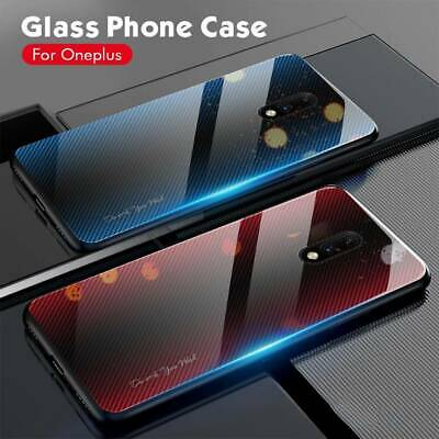 $5.64 • Buy For Xiaomi Mi 9T Pro Luxury Carbon Fiber Texture Back Tempered Glass Case Cover