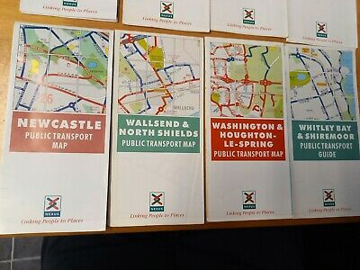 £2.99 • Buy 4x Nexus Bus Map Timetables Go Northern Busways.