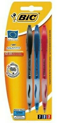 £8.99 • Buy Joblot Of 9 Packs Of 3 Bic Atlantis Ball Point Pens Office Supplies Stationery