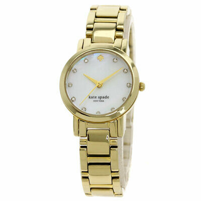 $ CDN137.32 • Buy Kate Spade Round Face Watches  Gold Plated/Gold Plated Ladies