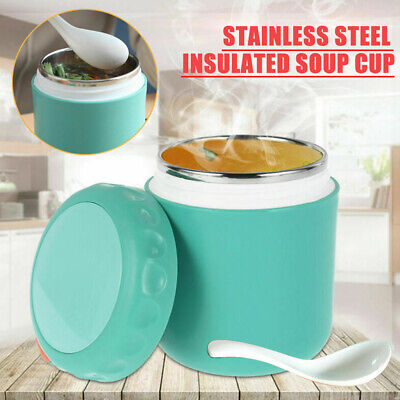 AU18 • Buy Thermos Food Flasks Lunch Box Insulated Vacuum Storage Heat Soup Leakproof Jars