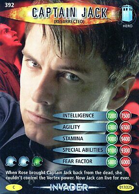 £1.36 • Buy Doctor Who Battles In Time Individual Trading Cards ( Cards 300 To 1060)