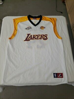 $50 • Buy NBA Los Angeles Lakers Kobe Bryant #24 The Finals 08 Majestic Jersey Size XXL...