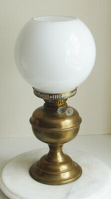 £14.99 • Buy VINTAGE  OIL LAMP OPAQUE SHADE 40cm TALL