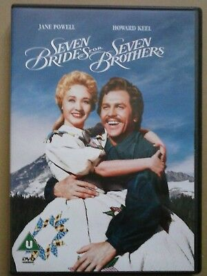 £2.99 • Buy SEVEN BRIDES FOR SEVEN BROTHERS ~ MGM Musical DVD - Howard Keel Jane Powell VG+