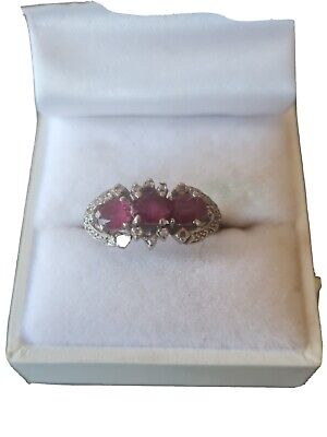 AU1800 • Buy Ruby And Diamond Antique Ring 585