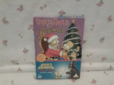 £4 • Buy Christmas With The Simpsons/Bart Wars  2-Disc DVD BOX SET