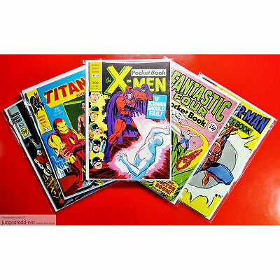 £9.98 • Buy Comic Bags And Boards/Backing Sheets Size1 Fits X-Men Marvel Digest Series X 10