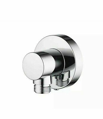 £4.99 • Buy Aqualisa Options Push Fit Round Wall Outlet Chrome OPN7004