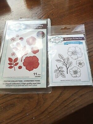 £2.40 • Buy Creative Expressions Sue Wilson Festive Collection Stamp And Die Set