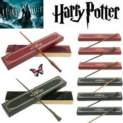 £12.99 • Buy Harry Potter Magical Wand Luna Ginny Metal Core Stick Cosplay Props Toys Gift UK
