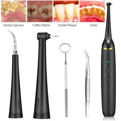 AU37.91 • Buy Electric Teeth Cleaning Professional Dental Calculus Plaque Remover Tool Remover