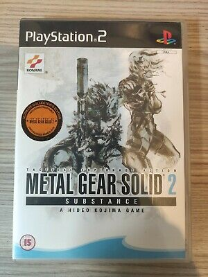 £16.99 • Buy Metal Gear Solid 2: Substance COMPLETE (PAL, Sony PlayStation 2, 2003)