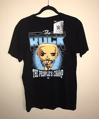£14.50 • Buy Funko Pop Tees - Genuine/new - T-shirt - Small - Wwe Peoples Champ - The Rock