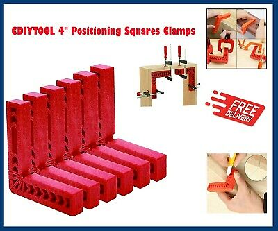 £20.65 • Buy 4  Positioning Squares, Right Angle Clamp, 90 Degree Corner Clamp, Woodworking 6