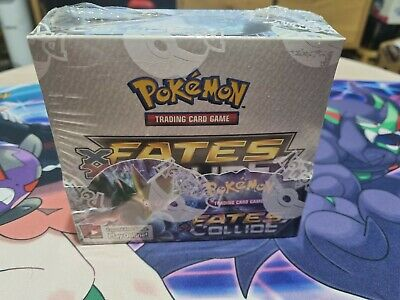AU600 • Buy Pokemon X Y Fates Collide Booster Box - Factory Sealed**