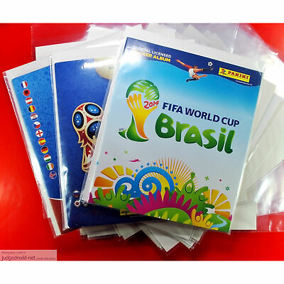 £9.98 • Buy Sticker Album Bags And Boards Acid Free For Panini Size2 Eg Auto Albums X10