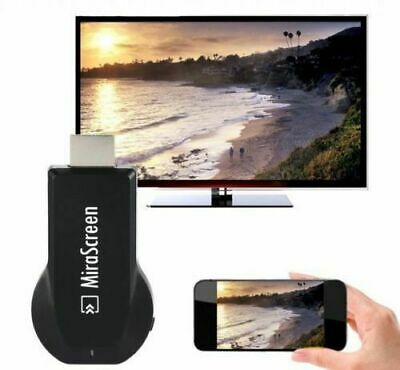 £10.99 • Buy Mirascreen 1080P Wireless Cast Display TV Dongle Wifi Receiver Media 128mb Gold