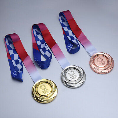 £20.90 • Buy 2020 Japan Tokyo Olympic Games Gold Medal Sports Award Medals Gold Silver Bronze