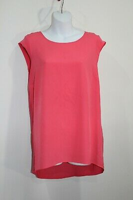 AU7 • Buy Forever New Coral Sleeveless Top Sz 12 Viscose