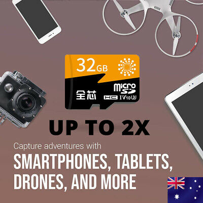 AU12.98 • Buy Micro SD Memory Card 32GB Ultra Extreme Pro SDHC Class 10 Camera Tablet Phone AU
