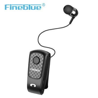 £12.39 • Buy In-ear Fineblue Business Auriculares Retractable Earphone F Plus Headset Clip