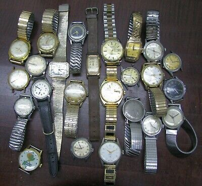 $249 • Buy Vintage Watches Lot Mechanical Automatic Swiss For Part Fix Sell 1940s 1960s D