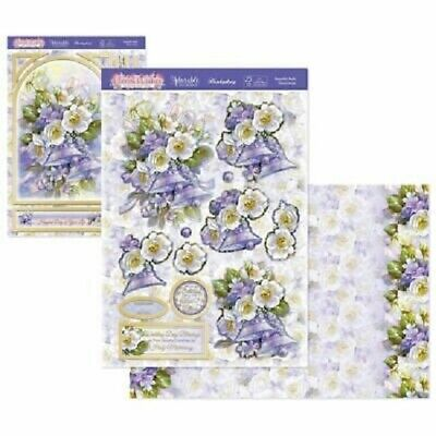 £1.99 • Buy Hunkydory Beautiful Bells Floral Deco Large Decoupage Card Kit P&P Discount