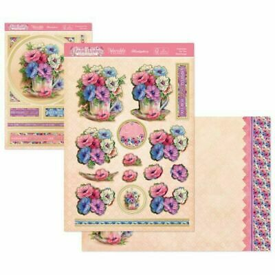 £1.99 • Buy Hunkydory Anemones For You Floral Deco Large Decoupage Card Kit