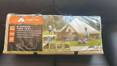 £60 • Buy Ozark Trail 8 Person Yurt Bell Tent - Large Family Outdoor Camping Tent BNIB