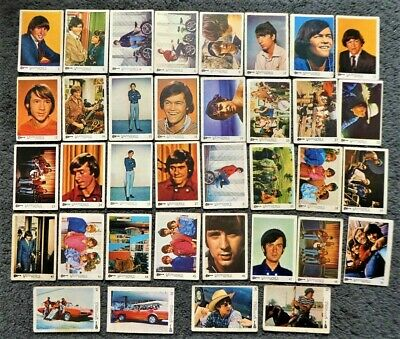 £4.99 • Buy Lot Of 30+ The Monkees Pop Group Bubble Gum Trading Cards 1967 A&BC Raybert UK