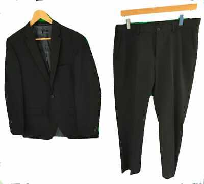 £14.99 • Buy TAYLOR & WRIGHT BLACK SUIT - Chest 40  R / Trousers 32  R