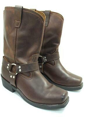 $57.74 • Buy Cody James Mens 13 D Brown Distressed Leather Biker Harness Boots