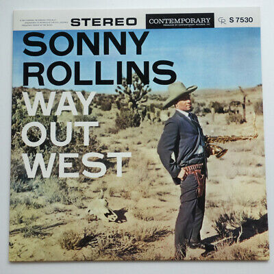 £21.23 • Buy Sonny Rollins Way Out West On Contemporary - Japan LP NM