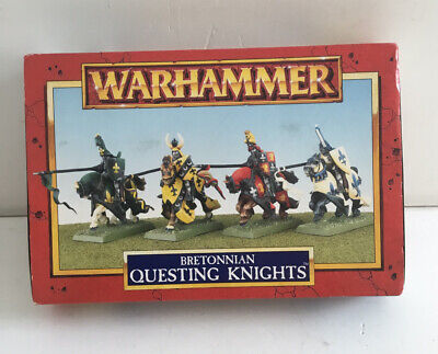 £11.50 • Buy Vintage Warhammer Bretonnian Questing Knights Complete Boxed Preowned 916Z95