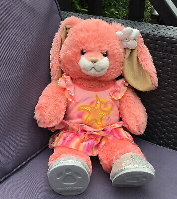 £9.99 • Buy Build A Bear Coral Beach Seaside Bunny Rabbit With Outfit