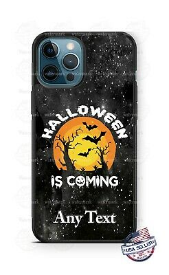 AU24.36 • Buy Halloween Is Coming Graveyard Personalized Phone Case For IPhone Samsung Google