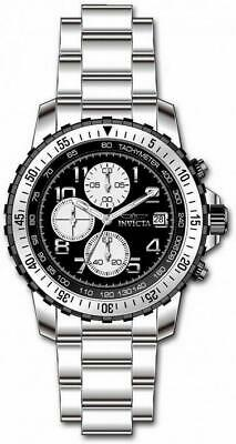 £28.75 • Buy Invicta Specialty 6000 Men's Round Black Analog Chronograph Date Stainless Watch