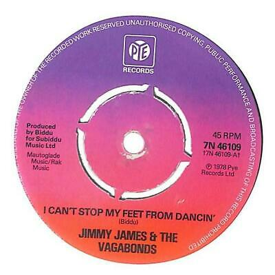 £3.30 • Buy Jimmy James & The Vagabonds I Can't Stop My Feet From Dancin' UK 7  1978 7N46109