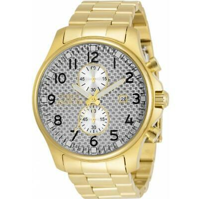 £0.71 • Buy Invicta Specialty 34032 Men's Round Gold Tone Chronograph Date Analog Watch