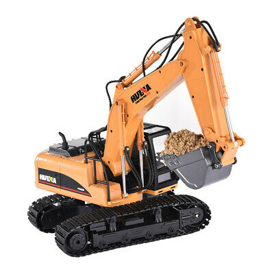 £35.98 • Buy 1550 1/14 2.4G 15CH RC Toy HuiNa Toys Alloy Excavator Engineering Vehicle RC Car