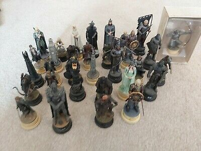 £133 • Buy Lord Of The Rings Eaglemoss Chess Set 1