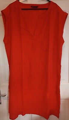 £8 • Buy Marks And Spencer Red Size 12 Longline Beachwear Dress Cover