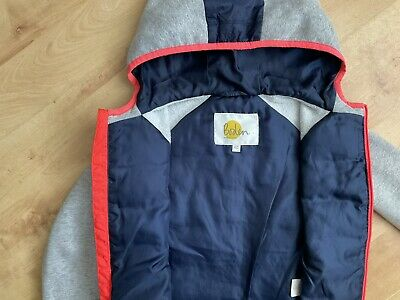 £7.50 • Buy Mini Boden Age 6-7 Long Sleeve Grey  & Blue Jacket With Zip Pockets.